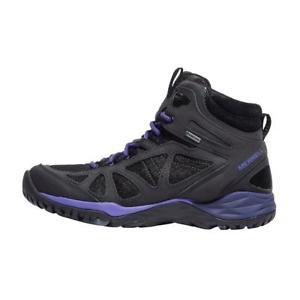 【送料無料】キャンプ用品 サイレンスポーツミッドウォーキングブーツmerrell siren sport q2 mid goretex women's walking boots