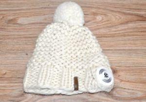 【送料無料】キャンプ用品 ニットバージンウールknit beanie white virgin wool by earebel integrated kopfhrermtzen