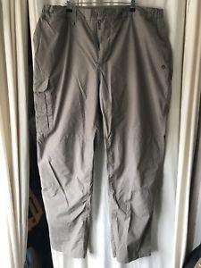 【送料無料】キャンプ用品 listingcraghoppersズボンlサイズ listingcraghoppers trousers l size grey