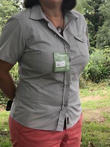 【送料無料】キャンプ用品 listingcraghoppersキーウィシャツ listingcraghoppers ladies kiwi short sleeve shirt