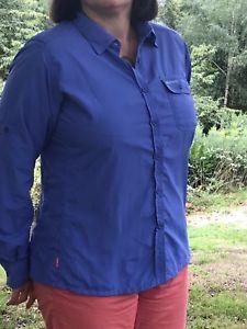 【送料無料】キャンプ用品 listingcraghoppersシャツ listingcraghoppers ladies insect repellent long sleeve shirt