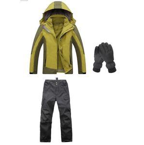 【送料無料】キャンプ用品 グリーンハイキングキャンプジャケットパンツグローブ