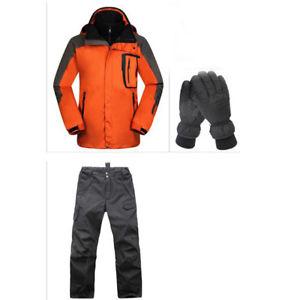 【送料無料】キャンプ用品 オレンジハイキングキャンプジャケットパンツグローブ