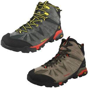 【送料無料】キャンプ用品 メンズキャプラミッドmens capra mid goretex leather boots by merrell retail 9999