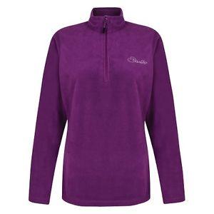 【送料無料】キャンプ用品 ドライフリーズパフォーマンスマイクロフリーストップwomens dare 2b freeze dry ii performance purple lightweight micro fleece top