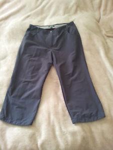 【送料無料】キャンプ用品 ズボンウォーキングサイズダークグレーrohan womans leeway capris walking trousers size 10 dark grey