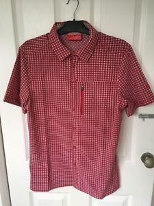 【送料無料】キャンプ用品 シャツレッドcraghoppers mens nosilife berko insect repellent shirt red medium