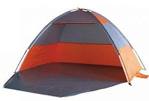 【送料無料】キャンプ用品 21m orange uv protected beach monodome tent shelter withzip up door ty998521m orange uv protected beach monodome tent shel