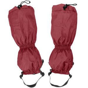 【送料無料】キャンプ用品 ハイランダーウォーキングブーツトレッキングスノーブーツカバーレッドhighlander xtp ripstop walking gaiters waterproof trekking snow boot cover red