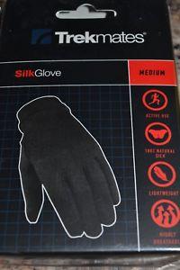 【送料無料】キャンプ用品 ライニングtrekmates silk lining gloves size medium bnib