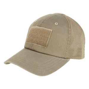 【送料無料】キャンプ用品 コンドルメッシュベースボールキャップオペレータパッチブラウンcondor tactical adjustable mesh baseball cap operator hat patches brown
