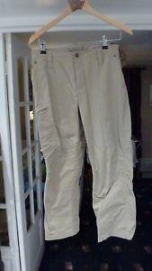 【送料無料】キャンプ用品 マーモットベージュウォーキングトレッキングズボンサイズmarmot men beige with a grey tint walking trekking trousers size 3226