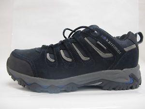 【送料無料】キャンプ用品 メンズマウントウォーキングハイキングmens karrimor mount low 7 walking hiking weathertite navy lace up shoes