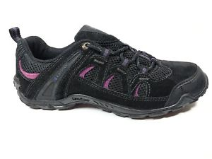 【送料無料】キャンプ用品 サミットアンプハイキングウォーキングシューズkarrimor summit 64 leather amp; textile hiking walking shoes 65 eu 40