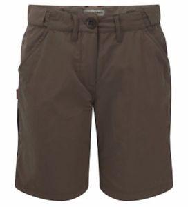 【送料無料】キャンプ用品 レディースブラウンハイキングウォーキングパンツcraghoppers womens ladies nosilife brown hiking walking shorts 10 bnwt cwj1051