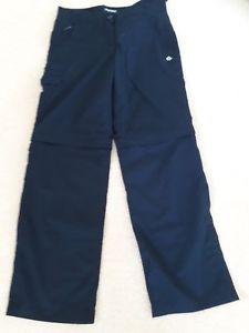 【送料無料】キャンプ用品 ウォーキングショートサイズズボンcraghopper navy walking trousers that convert to shorts size 10r