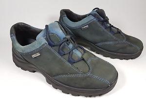 【送料無料】キャンプ用品 ダークレザーウォーキングシューズrohde dark ble leather walking shoes uk 5 eu 38