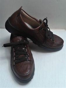 【送料無料】キャンプ用品 ホークスヘッドブラウンレザーユーロウォーキングハイキングシューズhawkshead brown leather uk 7 eur 41 walking hiking shoes mertex excellent