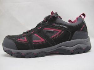 【送料無料】キャンプ用品 マウントウォーキングハイキンググレーピンクレディースwomens karrimor mount low walking hiking grey pink weathertite ladies shoes
