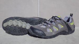 【送料無料】キャンプ用品 サミットチャコールグレーライムハイキングシューズサイズウォーキングkarrimor summit wp 40 charcoallime waterproof hiking walking shoes size uk 55