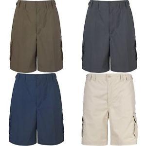 【送料無料】キャンプ用品 メンズトレスパスハイキングカーゴショートパンツtrespass mens gally water repellent hiking cargo shorts tp230