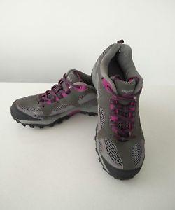 【送料無料】キャンプ用品 レガッタレディベントローグレーハイキングウォーキングシューズトレーナーwomens regatta lady advent low grey hiking walking shoes trainers uk 5 eu 38