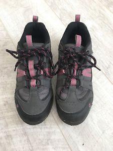 【送料無料】キャンプ用品 ウォーキングシューズトレーナーピンクグレーgelert horizon low walking shoes trainers waterproof uk5 eu38 pink grey
