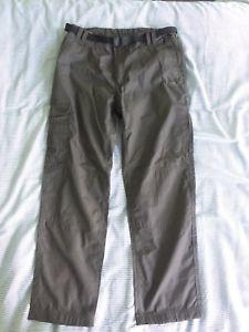 【送料無料】キャンプ用品 トレスパスクリフトンハイキングパンツカーキグリーンtrespass clifton hiking trousers khaki green 34w