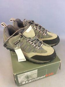 【送料無料】キャンプ用品 ウォーキングブーツトレーナーサイズボックスwomen's karrimor walking boots trainers size uk 5 eu 37 border boxed