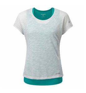 【送料無料】キャンプ用品 プロライトスポーツジムグレーターコイズシャツcraghoppers womens pro lite 3 in 1 sports gym tshirt in grey turquoise