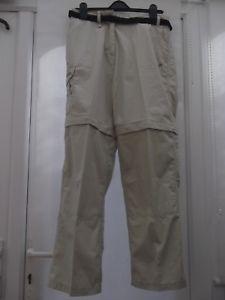 【送料無料】キャンプ用品 キーウィホッパーレディースウォーキングズボンベージュレッグウエストサイズkiwi crag hoppers ladies walking trousers size 30in waist 41 in leg beige