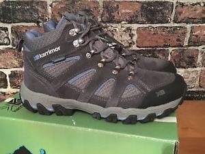 【送料無料】キャンプ用品 ボドミンミッドウォーキングハイキングブーツボックスwomens karrimor bodmin mid 5 weatherite walking hiking boots uk 55 in box
