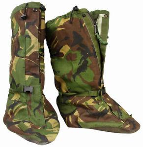 【送料無料】キャンプ用品 イギリスブランドサイズブーツbritish army dpm snow yeti gaiters mk3 brand goretex size s 4 5 6