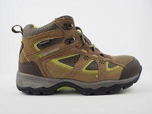 【送料無料】キャンプ用品 ウォーキングハイキングレディースブーツ婦人向け karrimor mouny mid walking hiking taupe leather ladies weathertite boots