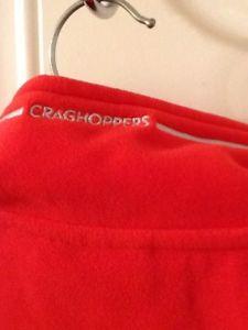 【送料無料】キャンプ用品 フリースlovely ladies red craghoppers fleece