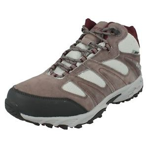 【送料無料】キャンプ用品 ウォーキングアンソールミッドレディースレザーハイキングブーツhitec sensor mid ladies leather waterproof walking, hiking boots