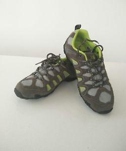 【送料無料】キャンプ用品 サミットライムハイキングウォーキングシューズトレーナーkarrimor summit wp20 charcoal lime waterproof hiking walking shoes trainers uk 4