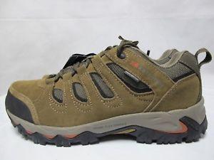 【送料無料】キャンプ用品 メンズマウントウォーキングハイキングmens karrimor mount low walking hiking weathertite taupe lace up leather shoes