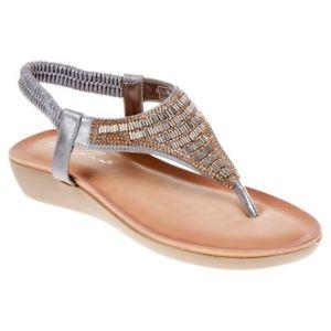 【送料無料】キャンプ用品 レディースポストサンダルウォーキングシューズlunar ladies womens adeline toe post sandal summer walking shoe jlh908gr