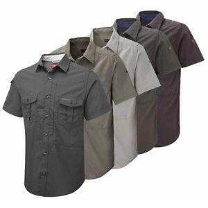 【送料無料】キャンプ用品 シャツcraghoppers nosilife shortsleeved shirt