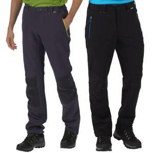 【送料無料】キャンプ用品 ウォーキングレガッタメンズニーパネルズボンregatta mens questra ripstop knee panel softshell walking trousers