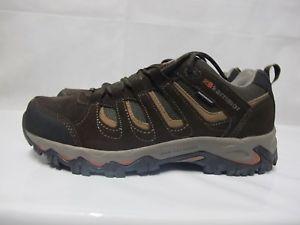 【送料無料】キャンプ用品 メンズマウントウォーキングハイキングブラウンレザーレースアップシューズmens karrimor mount low walking hiking weathertite brown leather lace up shoes