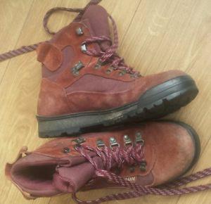 【送料無料】キャンプ用品 ソロモンゴアテックスハイキングブーツサイズsalomon goretex hiking boots size 6uk
