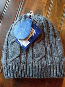 【送料無料】キャンプ用品 タグケーブルニットセーラーハットグレー with tags sealskinz waterproof breathable cable knit sailor beanie hat grey