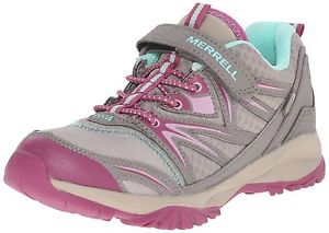 【送料無料】キャンプ用品 ボルトカバーハイキングサイズmerrell girls capra bolt alternative closure waterproof low rise hikingsize 5