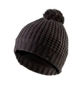【送料無料】キャンプ用品 ワッフルニットボブルグレーsealskinz waffle knit bobble hat grey