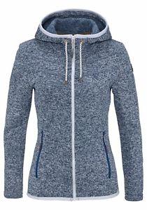 【送料無料】キャンプ用品 フィンランドフリースicepeak finland ladies high quality levia fleece in navy blue rrp 5999