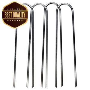 【送料無料】キャンプ用品 3604uフットボールゴールネットセットbrand 360 metal ground anchors u shape football goal net pegs set of 4