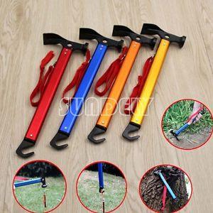 【送料無料】キャンプ用品 テントオレンジキャンプマレットハマーbrand multifunction camping mallet hammer for tent pegs red blue gold orange
