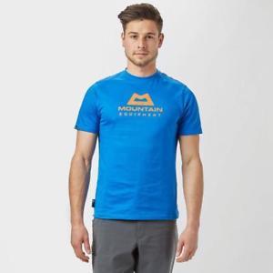 【送料無料】キャンプ用品 メンズロゴシャツmountain equipment men's front logo tshirt